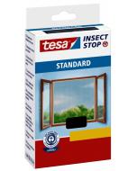TESA STANDARD - öntapadós szúnyogháló ablakra 130x150cm (antracit)