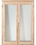 Fa erkélyajtó - 150x210 KFNY (jobb)