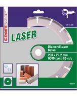 CRAFTOMAT LASER - lézerhegesztett gyémánt vágókorong (230mm)
