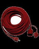 Kültéri hosszabbító (piros, 25m)