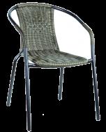 SUNFUN MAIKE - kerti szék (sötétbarna)