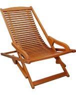 SUNFUN DIANA - kerti szék (natúr, relaxációs)