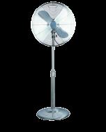 PROKLIMA RETRO - állóventilátor (Ø40cm, ezüst)