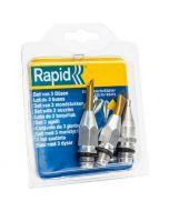 RAPID - ragasztópisztolyfúvóka-készlet (3db)