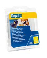RAPID - ragasztórúd PVC/kábelhez (12mm, 125g, átlátszó)