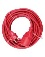 VOLTOMAT - gumi hosszabbító (piros, 10m)