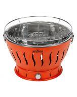 KINGSTONE EASY 32 - faszenes asztali grill (32cmØ, narancssárga)