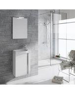 RIVA ELEGANCE 45 (fehér) - komplett mosdóhely