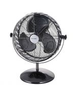 PROKLIMA VINTAGE - asztali ventilátor (Ø30cm, fekete)