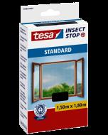 TESA STANDARD - öntapadós szúnyogháló ablakra 150x180cm (antracit)