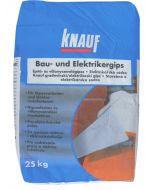 KNAUF - építő- és villanyszerelőgipsz (25kg)