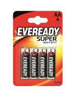 ENERGIZER EVEREADY SUPER HEAVY DUTY - szén-cink ceruzaelem (AA, 1,5V, 4db)