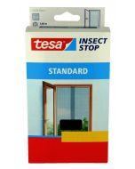 TESA STANDARD - öntapadós szúnyogháló ajtóra (65x220cm, antracit, 2db)
