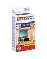 TESA COMFORT - öntapadó szúnyogháló ablakra (130x150cm, antracit)