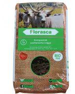 FLORASCA BIO - komposztált bio szürkemarhatrágya (20L)