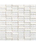PALAZZO NATURA - mozaik (fehér, 30x30cm)
