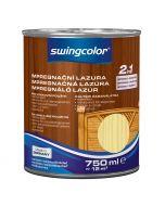 SWINGCOLOR 2in1 - impregnáló lazúr - színtelen 0,75L