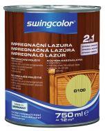 SWINGCOLOR 2in1 - impregnáló lazúr - erdei fenyő 0,75L