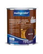 SWINGCOLOR 2in1 - impregnáló lazúr - paliszander 0,75L