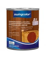 SWINGCOLOR 2in1 - impregnáló lazúr - mahagóni 2,5L
