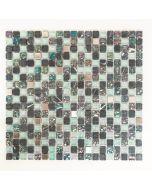 FLIESEN CRYSTAL MIX - mozaik (szürke, 32,2x30,5cm)