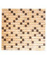 FLIESEN QUADRAT CRYSTAL MIX - mozaik (bézs, 32x30cm)
