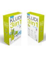 KLUDI D-VISE 3IN1 - mosdó és kádtöltő csaptelep zuhanyszettel