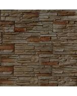 DOMINART SILTBROWN - falburkoló (barna/bézs, 11,2x39,5cm, 1,05m2)