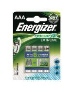 ENERGIZER - tölthető mikroakku (AAA, 800mAh, 4db)