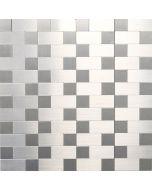 FLIESEN - öntapadós mozaik (metal mix, 30x30cm)