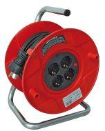 BAT ST 260 - műanyag kábeldob (piros, 50m)