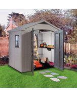 KETER FACTOR 8X6 - műanyag kerti ház 256,5x182x243CM