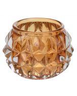 Mécsestartó (üveg, 7cm)