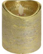 LED-gyertya (arany)