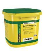 WEBER TEC SUPERFLEX D24 - bitumenmentes épületszigetelés (24kg)