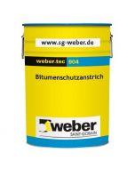 WEBER TEC 904 - bitumenes vízszigetelés (oldószeres, 33L)
