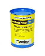 WEBER TEC 911 - bitumenes vízszigetelés (oldószeres, 1L)