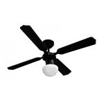 PROKLIMA TENERIFA/BUNGONIA - mennyezeti ventilátor világítással (Ø105cm, fekete)