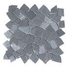 Törtmozaik (szürke, márvány, 30x30cm)