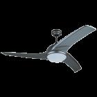 PROKLIMA KUBA/PRIMO/WAVE - mennyezeti ventilátor világítással (Ø132cm, titánium)