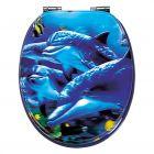 POSEIDON SEA LIFE 3D - WC-ülőke