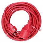 VOLTOMAT - gumi hosszabbító (piros, 25m)