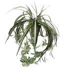MICA DECORATIONS - művirág (zöldike, 45cm)