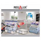 REGALUX - vákuumos tárolózsák táskával (65x50x25cm)