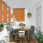SUNFUN - balkon-belátásvédő (1,4x2,5m, narancs)