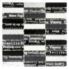 FLIESEN CRYSTAL MIX CITY 39 - mozaik (fekete mix, 30x30cm)