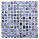 FLIESEN QUADRAT ECO UNI SANDY 18 - mozaik (antracit, 31,5x31,5cm)