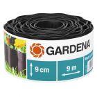 GARDENA - ágyásszegély (9mx9cm, barna)