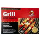 GRILL PARTY - begyújtókocka (20db, fa-viaszbázisú)