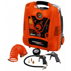 NUAIR SUPER SQUIRREL - kompresszor 220/8/6 1500W  (tartozékokkal)
